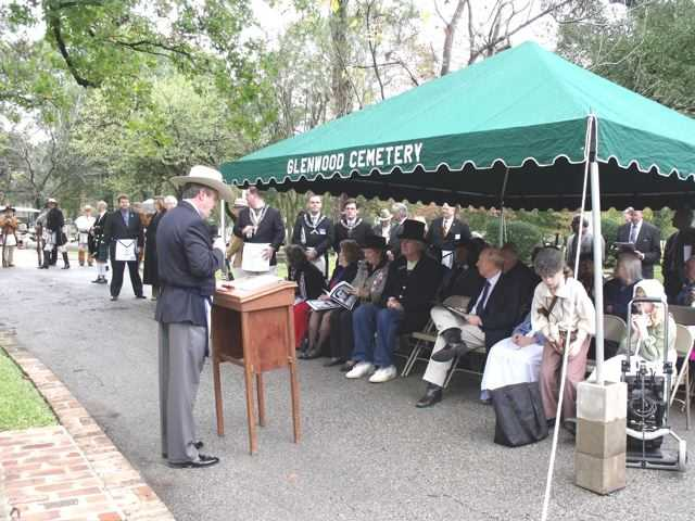 Anson Jones Marker Dedication