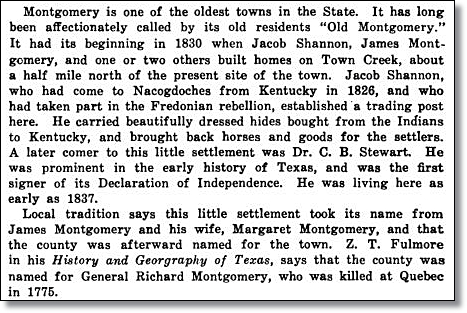 Introduction of the Montgomery Trading Post Myth in 1925