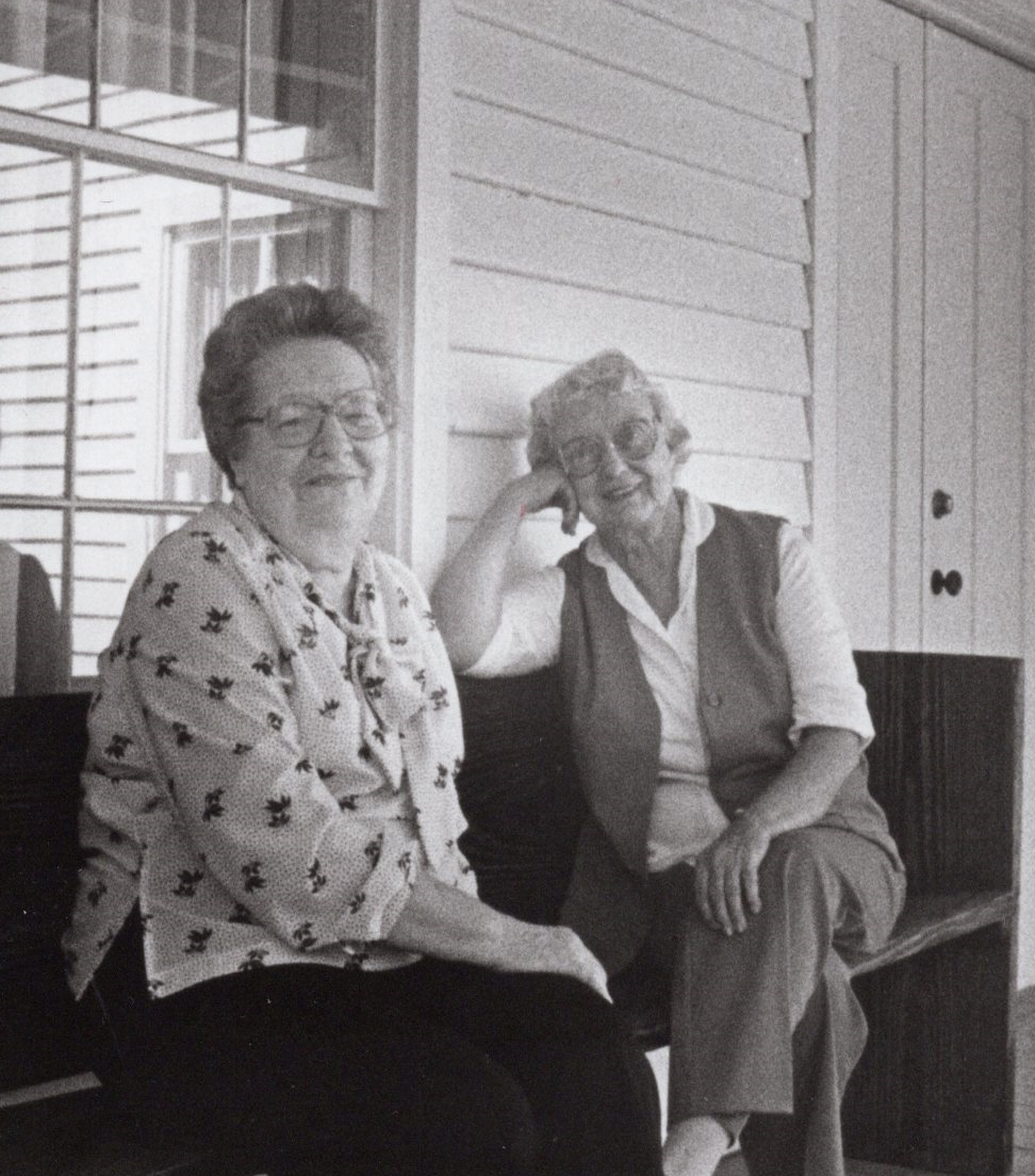 Anna Davis Weisinger and Bessie Price Owen