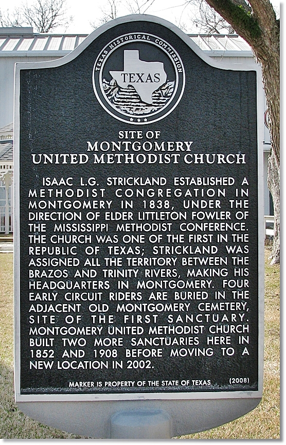 Methodist Church Marker